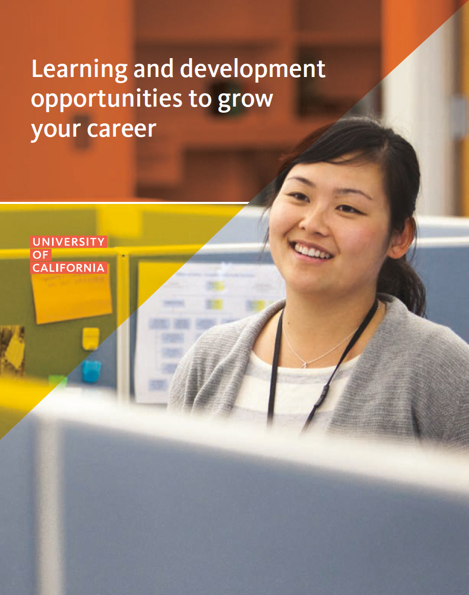 Learning and Development catalog cover