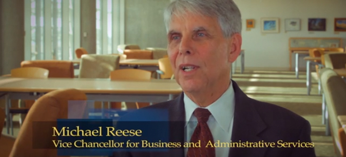 Michael Reese in interview at UC Merced