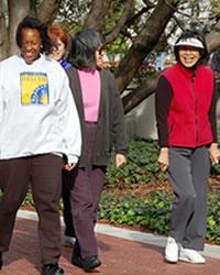 UC staff walking