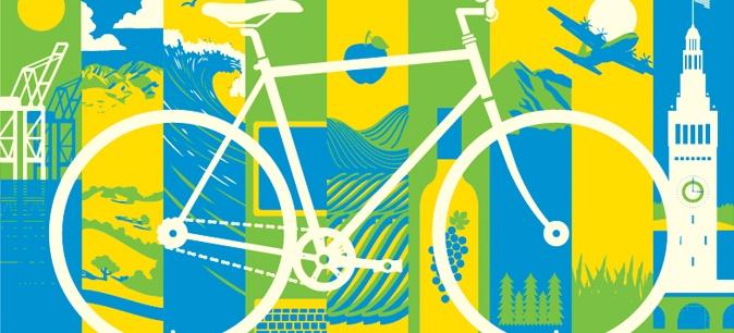 Bike to work day graphic