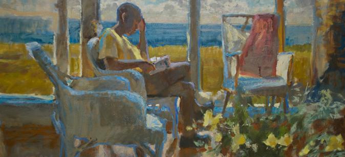 Charlene Hughes oil painting