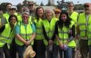 Channel Park cleanup crew