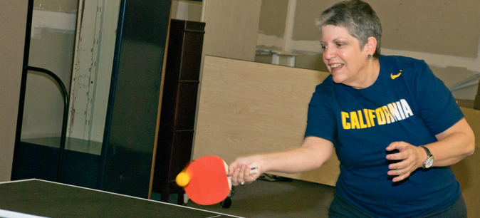 Ping pong, anyone? Tables now available at Franklin and Broadway