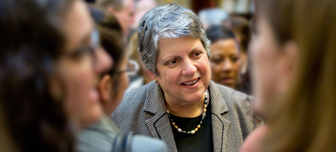 Thursday: Join President Napolitano for a UCOP Town Hall