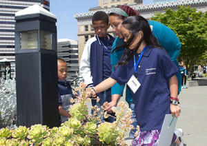 A plant scavenger hunt was a highlight of Take Our Kids to Work Day.