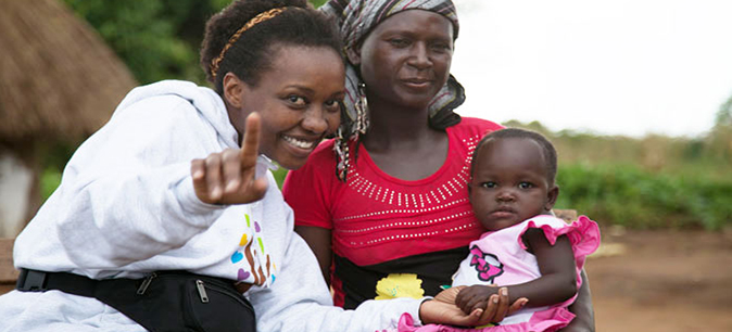 UC student delivers hope to hospital in her homeland of Uganda