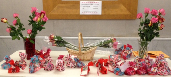 Today: Get your Valentine's Day gifts at UCOP Pride fundraiser!