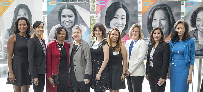 President Napolitano honors the 2017 Remarkable Women of UC
