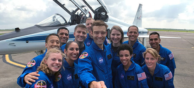 Three of 12 astronauts in NASA's Class of 2017 are UC alums
