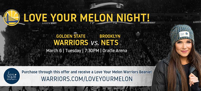 See the Warriors on March 6 with this special offer