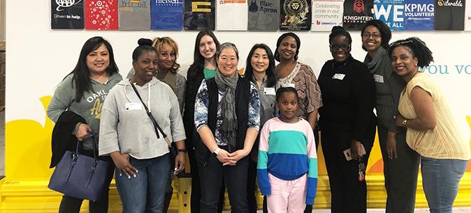 UCOP Alameda County Food Bank volunteers