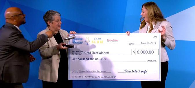 Grad Slam puts students' passion into focus