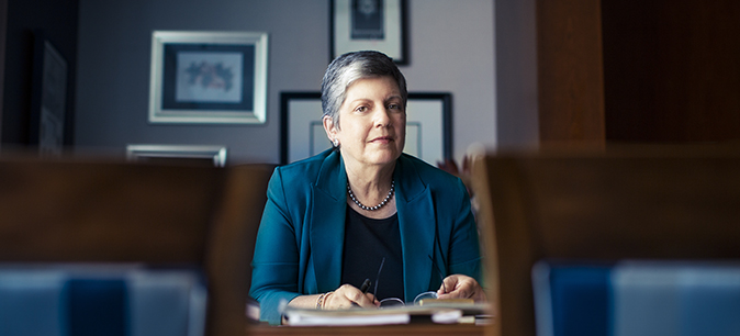 A message to the UCOP community from President Napolitano