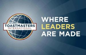 Toastmasters logo + tagline