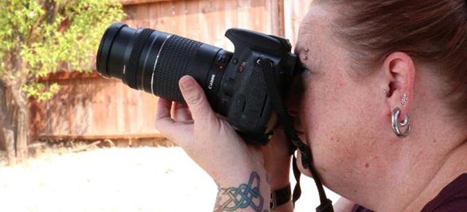 My new (ab)normal: Melissa Warlick, photographer and birder