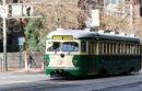 Historic F train trolley in San Francisco