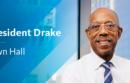 President Drake Town Hall