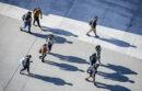 Students walking at UC Merced