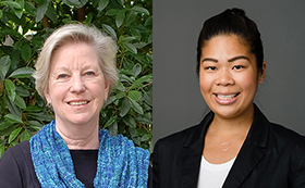 Staff Advisors to the Regents Ann Jeffrey and Lucy Tseng