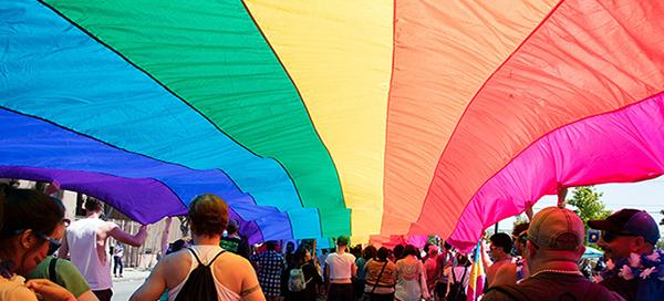 UC Pride parade