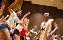 African dance class at UC Berkeley