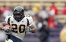 Justin Forsett playing football for Cal